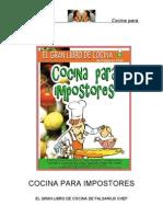 Falsarius Chef - Cocina Para Impostores