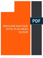 Brochure Boutique Hotel Playa Brava Iquique