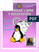 SOFTWARE LIBRE Y EDUCACIÓN (revista)