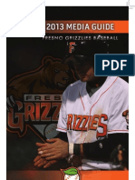 2013 Fresno Grizzlies Media Guide