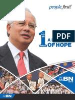Barisan Nasional 2013 Manifesto