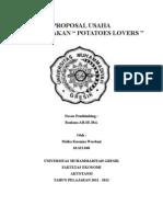 Proposal Usaha Potatoes Lovers