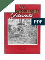 Field Artillery Journal - Jun 1945