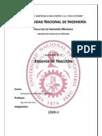 Informe 2 - Ensayos de Tracción