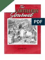 Field Artillery Journal - Aug 1945