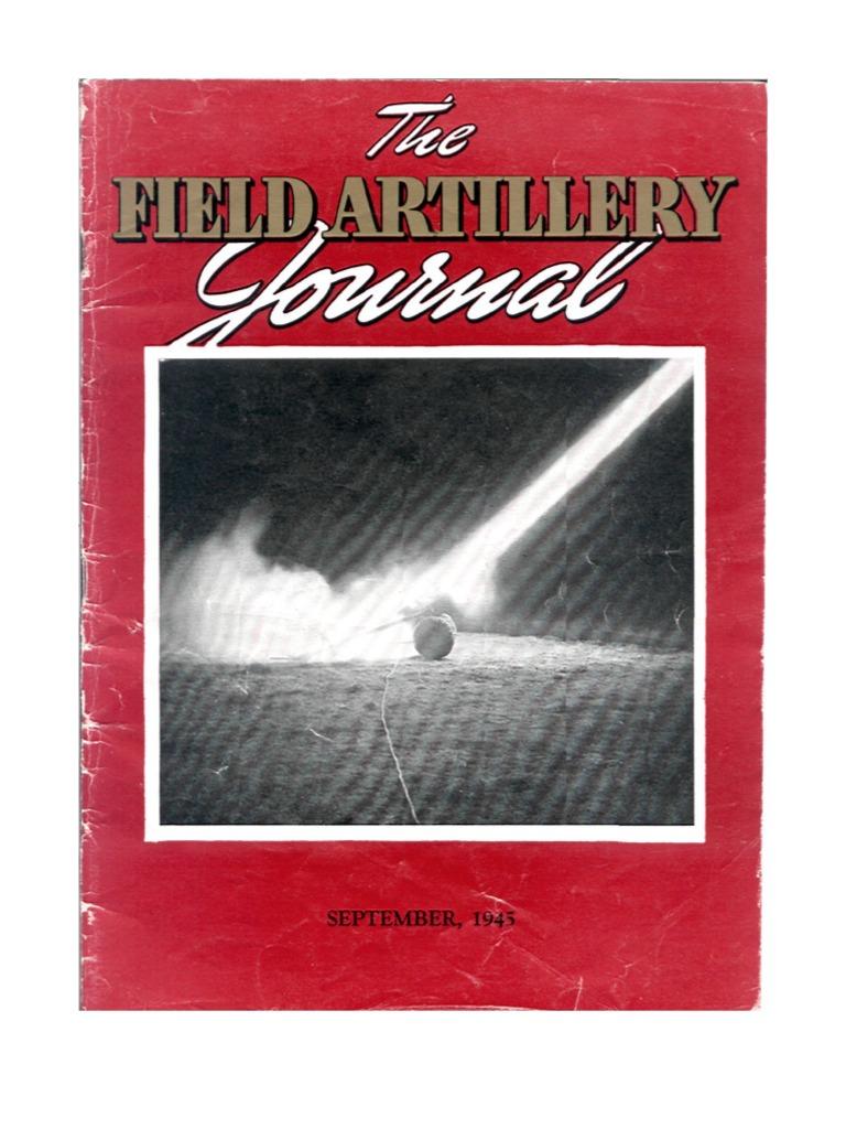 ad9892b6a23 Field Artillery Journal - Sep 1945