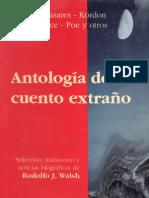 Walsh, Rodolfo - Antologia Del Cuento Extraño 2
