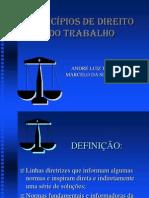 Powerpoint Principios Direito Trabalho