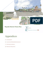 Wayside District Wayside District Vision Plan Appendices