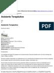 Asistente Terapéutico - 2013-02-22