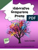 Collaborative Comparison Poems