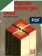 Introduccion a la Metalurgia Física - Avner - 2Ed