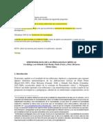 EPISTEMOLOGÍA DE LAS PEDAGOGÍAS CRÍTICAS 6 prom