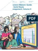 Decision Makers' Guide to Solid Waste Management