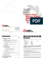 Liquid Ring Pump Disassembly & Assembly Instructions