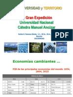 Agua y Diversidad La gran Expedición Universidad Nacional  2 MARZO 2013