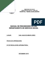 instrumentos de gestión_mapro_MAPRO - SERVICIO SOCIAL
