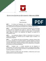 Estatutos Centro de Estudiantes de Medicina