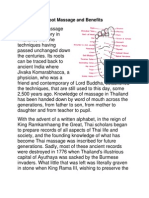 Foot Massage and Benefits