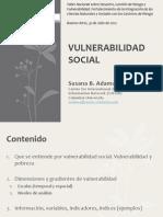 Adamo VulnerabilidadSocial Julio31