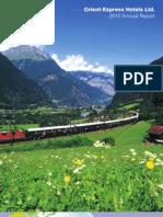 Relatório Orient Express