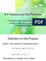 6 4 vectors and dot products-0