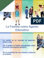 La Familia Como Agente Educativo