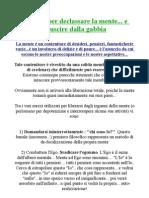 59933592 11 Steps Per DeclAssAre La Mente e Uscire Dalla Gabbia