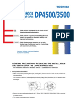 Toshiba - DP-4500 Service Handbook