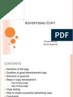 Advertising Copy