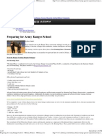 Preparing for Army Ranger School - Military Fitness - Military