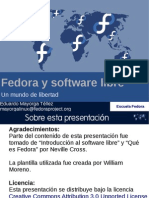 Fedora y Software Libre
