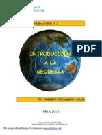 Cuaderno Didactico nº 1 Introduccion a la Geodesia