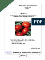 Copia de Proyecto de Biosespacio Los Habillos Sc de Rl