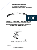 Proyecto Jornada Espiritual Usp 2010