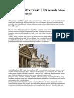 CHATEAU de VERSAILLES Sebuah Istana Megah Di Perancis