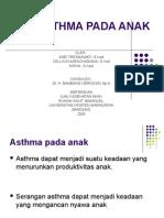 Asthma Pada Anak