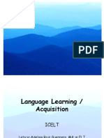Language Acquisition Learning