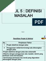 5. Modul 5- Definisi Masalah Kik