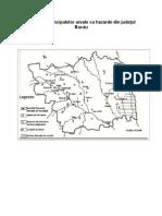 Repartiţia principalelor areale