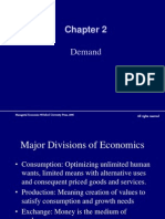Lect. 2, Chapter 2, Demand
