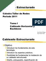 Cableado Estructurado - Tema I - 2011