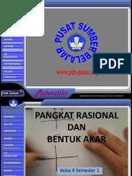 Math_X-1_1-2_PangkatRasionalBentukAkar-Suprojo.ppt