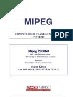 Mipeg Safe Load Indicator Sagar Kiran Manual m2000nr