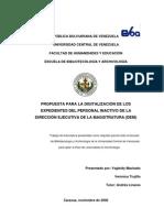 Propuesta para la Digitalización de los Expedientes del Pers