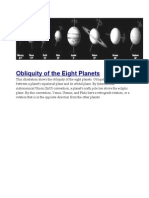 Obliquity of the Eight Planets.doc