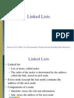 Lecture LinkedLists D.S. Malik