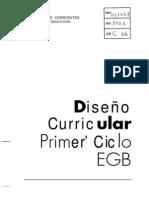 diseño curricular Corrientes 1º ciclo EGB