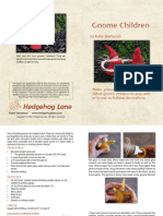 Free Gnome Child Pattern