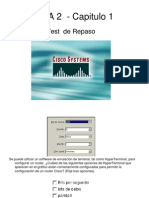 Ccna2-Capitulo 1 - Test